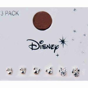 Disney 3 Pack Mouse Ears Earrings